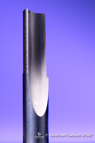 1F Straight O Flute Router Bit 1