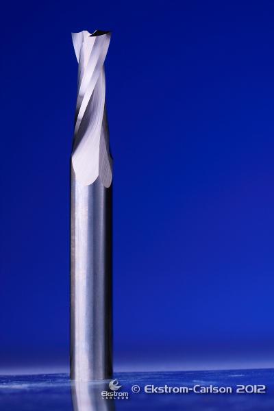 2F Spiral Upcut O Flute High Helix Router Bit 1