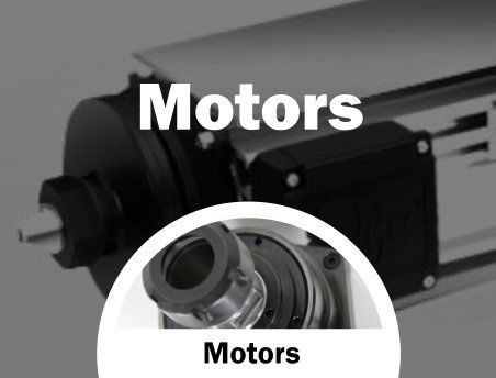 spindles and motors