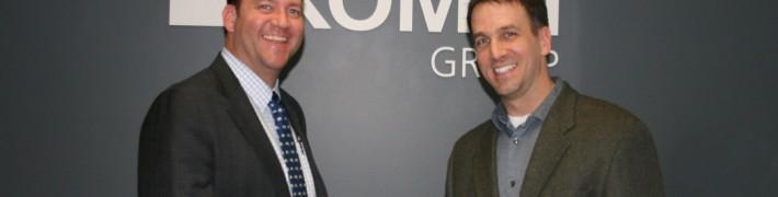 KOMET's President/CEO, Jan Pflugfelder & Ekstrom Carlson's President, Todd Kreissler